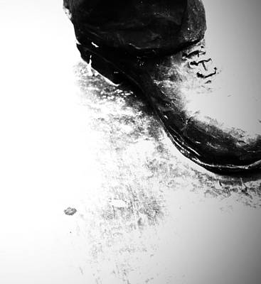 Heavy Foot Print by JC Photography and Art