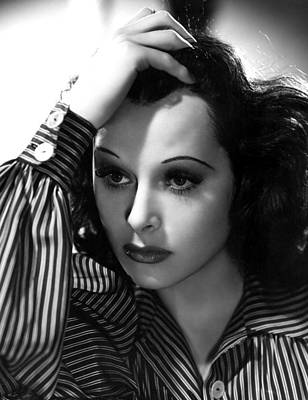 Hedy Lamarr, 1939, Photo By Clarence Print by Everett