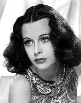 Publicity Shot Photograph - Hedy Lamarr, C. Early 1940s by Everett