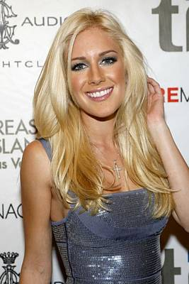 Heidi Montag At Arrivals For Heidi Print by Everett