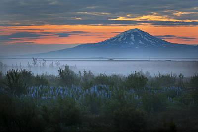 Hekla In The Mist Original by Pall Jokull Petursson