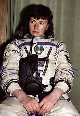 Helen Sharman, British Astronaut Print by Ria Novosti