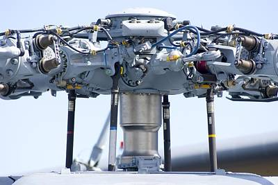 Technical Photograph - Helicopter Rotor Head by Mark Williamson
