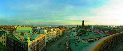 Helsingborg Photograph - Helsingborg And Oresund Beyond by Jan Faul