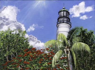 Hemmingway's View Original by Lisa Reinhardt