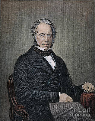 Henry Temple Palmerston Print by Granger