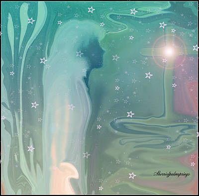 Universe Painting - Her Spirit by Sherri  Of Palm Springs