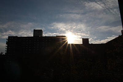 Harlem Ny Photograph - Here Comes The Sun by Terry Wallace