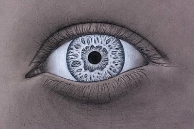 Blending Drawing - Here's Lookin At Ya by Paul Madura
