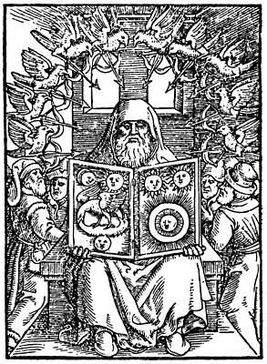 Hermes Trismegistus, Classical God Print by Cordelia Molloy