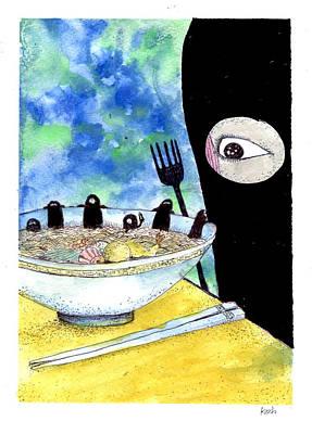 Painting - Hey Bob Since When Did You Get So Big by Katchakul Kaewkate