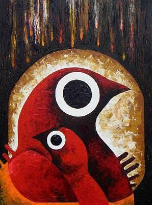 Loganville Painting - Hibernation Lullaby by Harold Bascom
