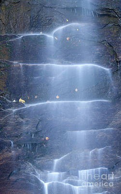 Hickory Nut Falls North Carolina Print by Dustin K Ryan
