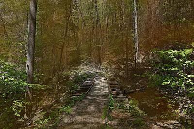 Hidden Rail Road Original by Joseph G Holland