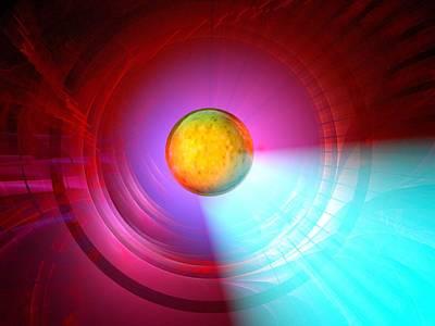 Higgs Boson Particle, Artwork Print by Laguna Design