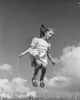 High Skips Print by Raymond Kleboe
