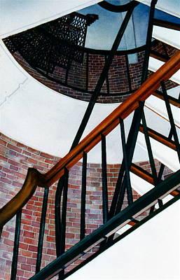 Highland Light Interior Original by Karol Wyckoff