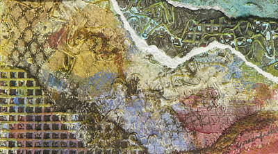 Adele Mixed Media - Hill Squared by Adele Greenfield