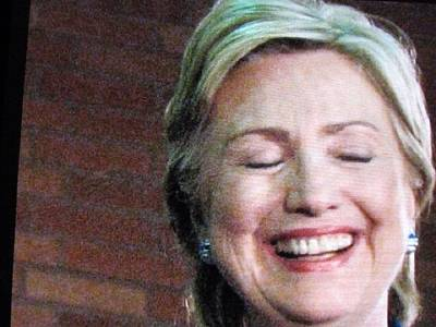 Hillary Clinton Photograph - Hillary's Run by Shawn Hughes