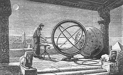 Hipparchus, Greek Astronomer Print by Science Source