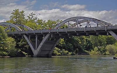 Historic Caveman Bridge In 2012 Print by Mick Anderson