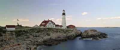 Historic Portland Head Light Print by Juergen Roth