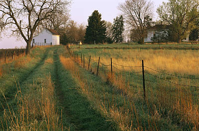 Historic Stevens Creek Farm Print by Joel Sartore