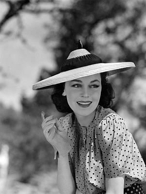 Maureen Photograph - Hold That Kiss, Maureen Osullivan, 1938 by Everett