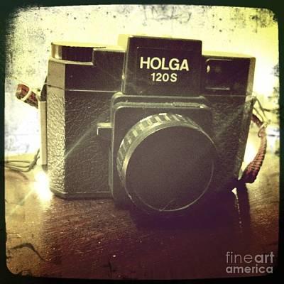 Holga Camera Photograph - Holga by Nina Prommer