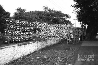 Ancient Photograph - Home Decoration Garlands In India by Sumit Mehndiratta