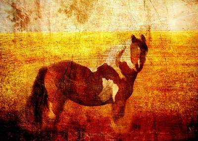 Western Chic Digital Art - Home Series - Strength And Grace by Brett Pfister
