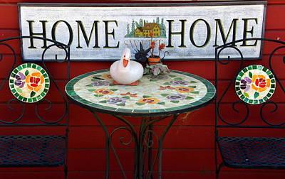 Home Sweet Home Print by Jeff Lowe
