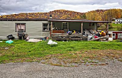 Mess Photograph - Home Sweet Home by Steve Harrington