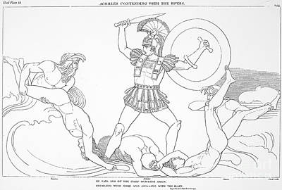 7th Century Photograph - Homer: The Iliad by Granger