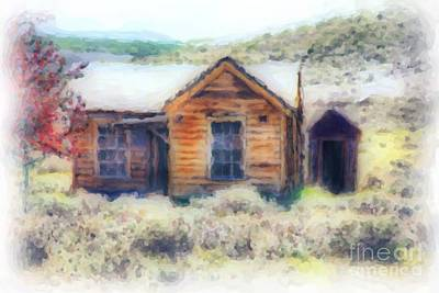 Old House Photograph - Homestead 3 by Cheryl Young