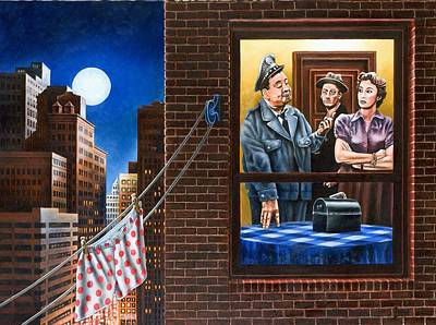 Jackie Gleason Painting - Honeymooners by Michael Frank