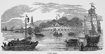 Hong Kong: Harbor, 1842 Print by Granger