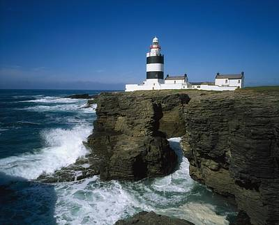 Hook Head Lighthouse, Co Wexford Print by The Irish Image Collection