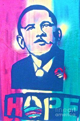 Liberal Painting - Hope by Tony B Conscious