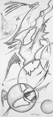 Hopi Drawing - Hopi Dreams by Christopher A Newman