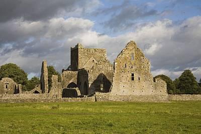 Hore Abbey, Cashel, County Tipperary Print by Richard Cummins