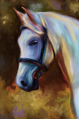 Pets Art Digital Art - Horse Of Colour by Michelle Wrighton