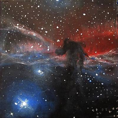 Space Painting - Horsehead Nebula II by Alizey Khan