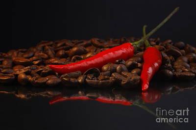 Hot Coffee Print by Tanja Riedel