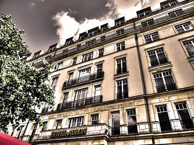 Hotel Adlon - Berlin Print by Juergen Weiss