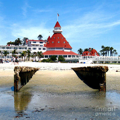 Hotel Del Coronado Original by Jerome Stumphauzer