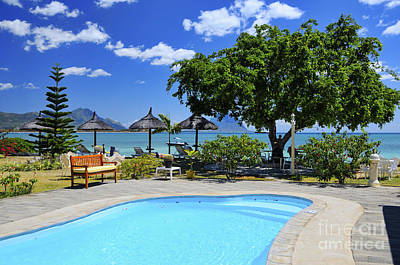 Hotel Dream - Mauritius Print by JH Photo Service