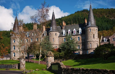 Nature Photograph - Hotel Tigh Mor Trossachs. Perthshire. Scotland by Jenny Rainbow