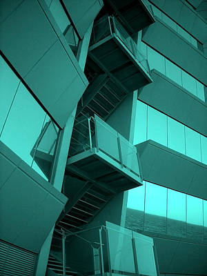 Fenster Photograph - Hotel W - Barcelona by Juergen Weiss