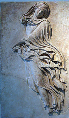 Dancer Relief Photograph - Hour Dancing 2 by Andonis Katanos